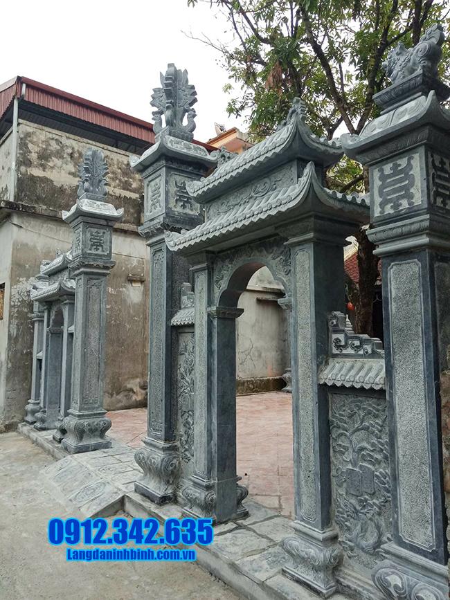 cổng đá nhà thờ họ đẹp