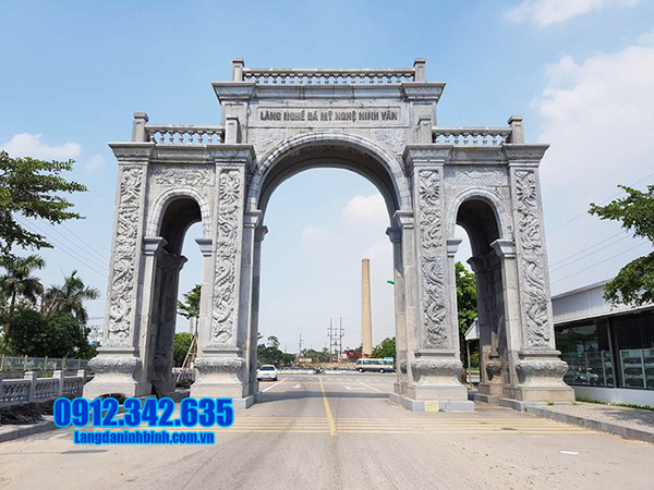 Những mẫu cổng làng bằng đá đẹp nhất 2020
