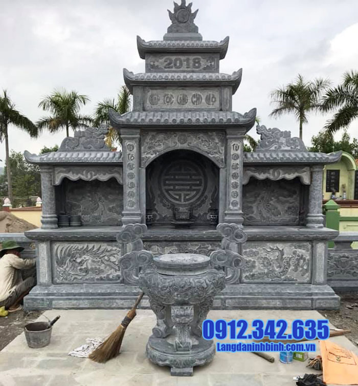 khu lăng mộ đá đẹp Ninh Vân Ninh Bình