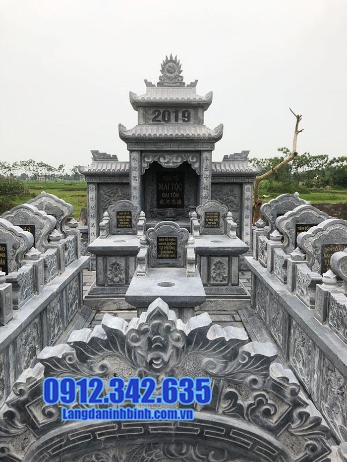 khu lăng mộ đá đẹp Ninh Vân