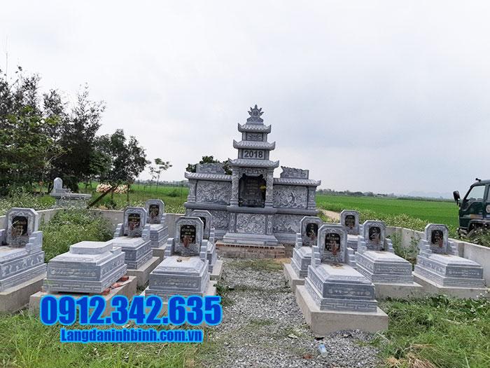 lăng mộ đá đẹp Ninh Vân Ninh Bình