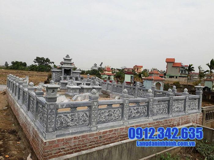 lăng mộ đá đẹp Ninh Vân