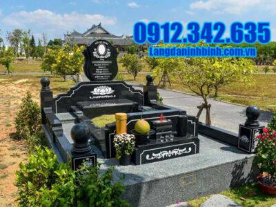 Lăng mộ đá granite đẹp Ninh Vân Ninh Bình