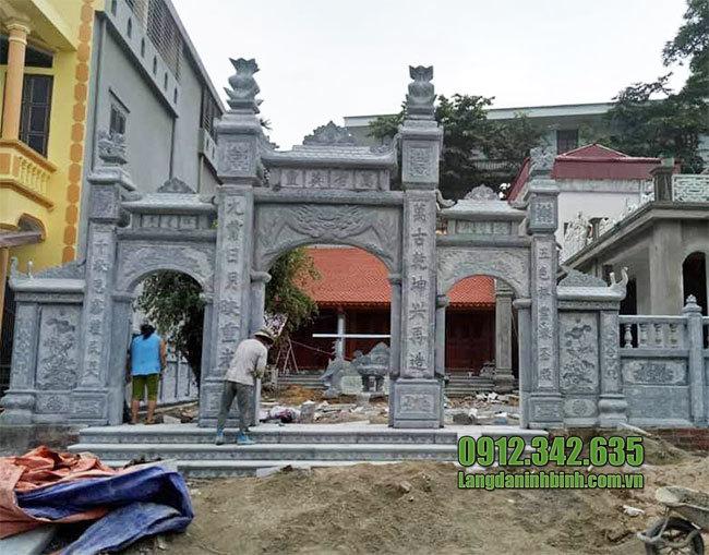 mẫu cổng nhà thờ họ