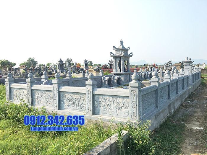 mẫu khu lăng mộ đá đẹp Ninh Vân Ninh Bình