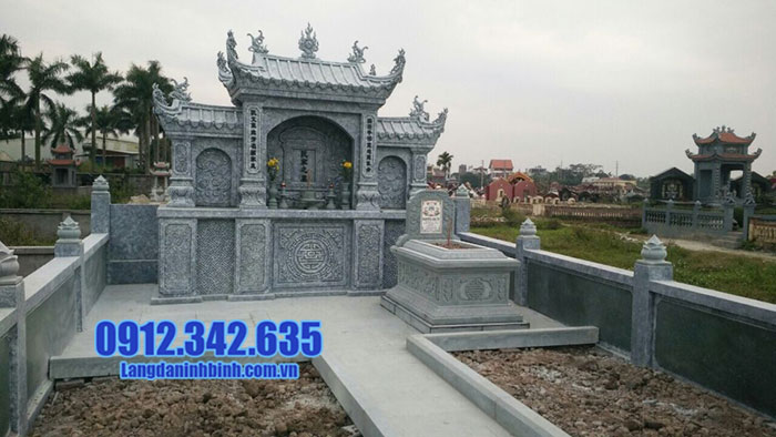 mẫu lăng mộ đá đẹp Ninh Bình