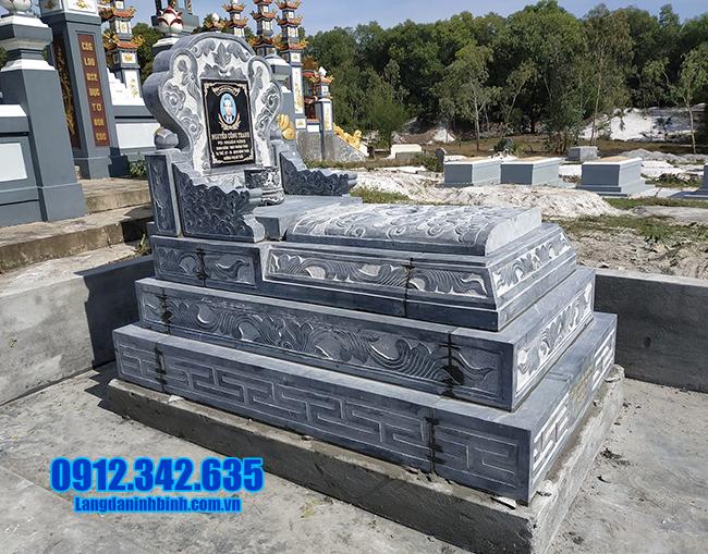 mẫu mộ bành đá đẹp