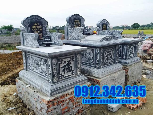 mẫu mộ tam sơn đá đẹp