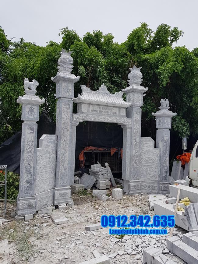 cổng đá đẹp nhất cho nhà thờ họ