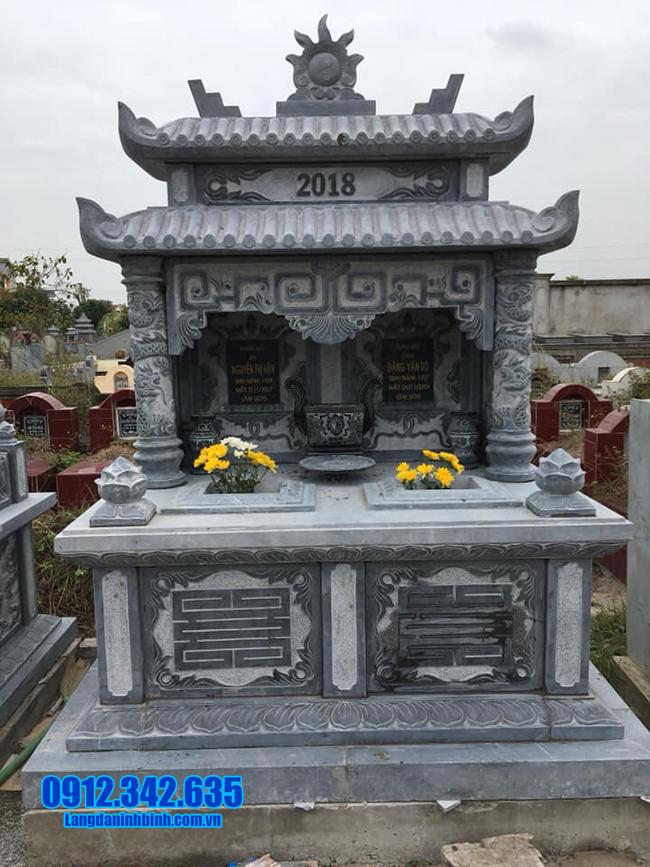 kiểu mộ đôi đá ninh bình đẹp nhất
