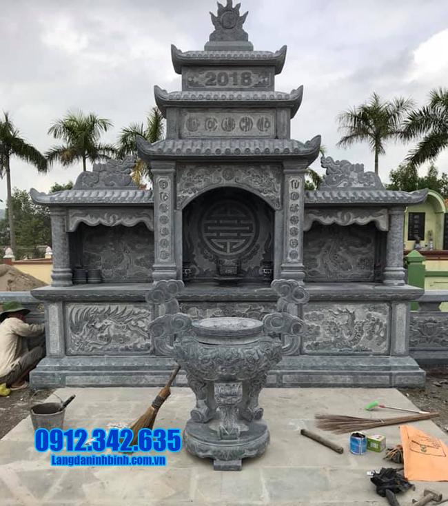 lăng mộ bằng đá đẹp ninh bình