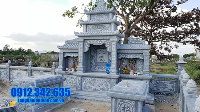 mẫu lăng mộ bằng đá xanh đẹp