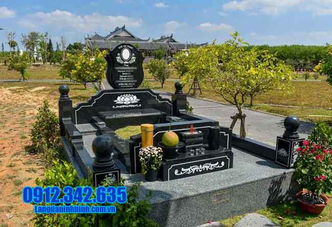 mộ đẹp đá hoa cương đẹp