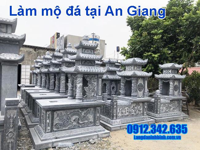 Làm mộ đá tại An Giang