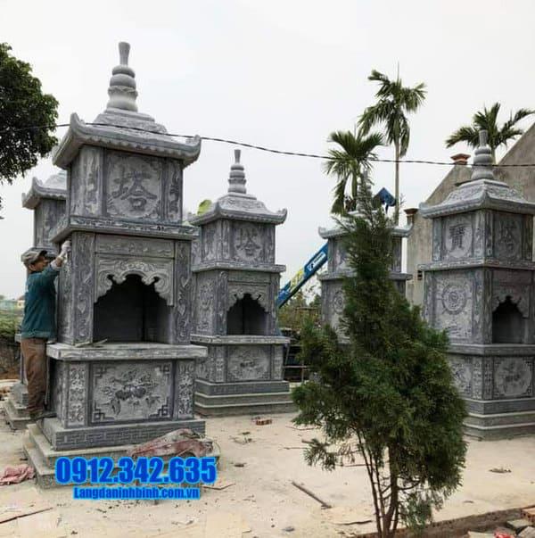 mẫu mộ đá hình tháp đẹp nhất