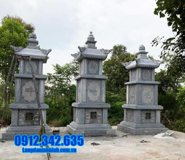 mẫu mộ tháp đá tại Quảng Trị đẹp