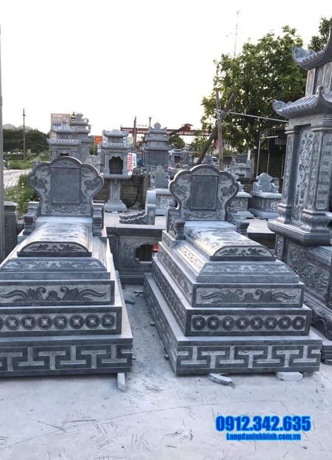 mộ đá đẹp tại an giang