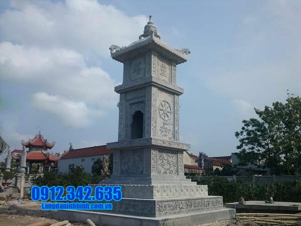 mộ đá hình tháp đẹp