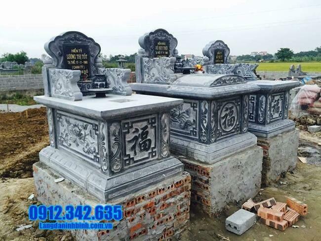 mộ bành đá tại long an