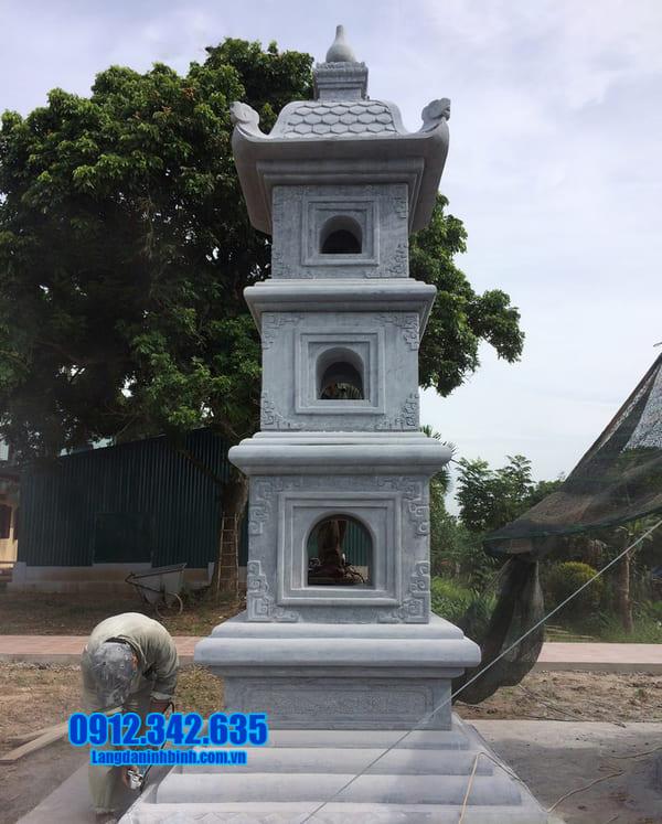 mộ tháp bằng đá đẹp