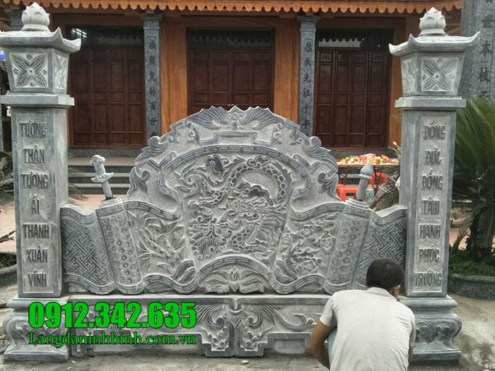 cuốn thư bằng đá tại Bắc Ninh