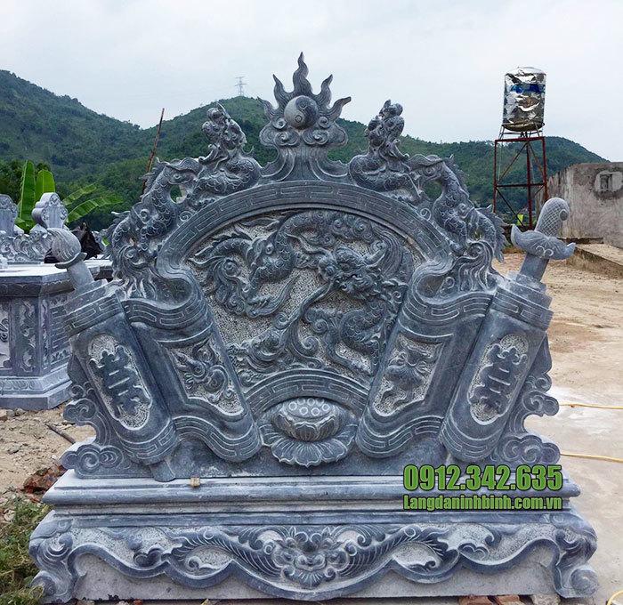 cuốn thư đá tại Bắc Ninh đẹp