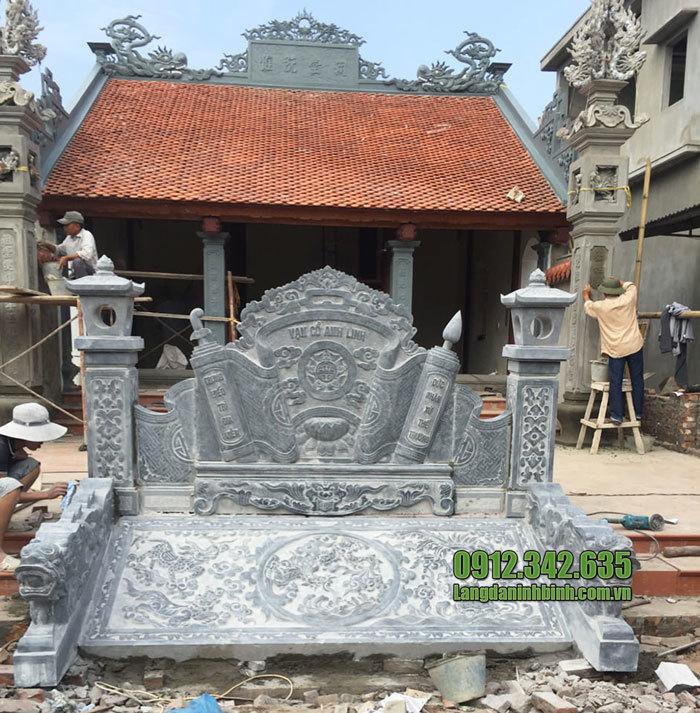 cuốn thư đá tại Bắc Ninh