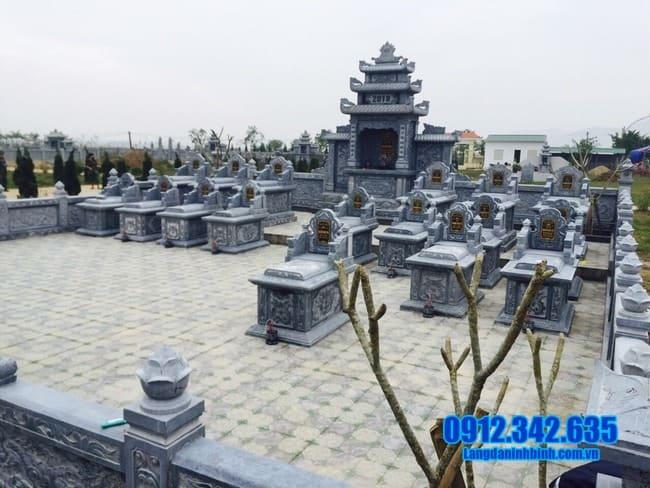 lăng mộ bằng đá tại Quảng Trị đẹp nhất