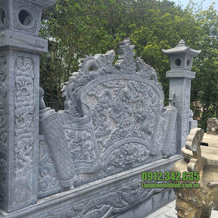 mẫu cuốn thư bằng đá tại Bắc Ninh đẹp