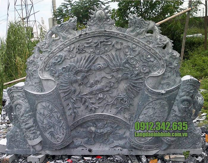 mẫu cuốn thư bằng đá tại Lạng Sơn đẹp nhất