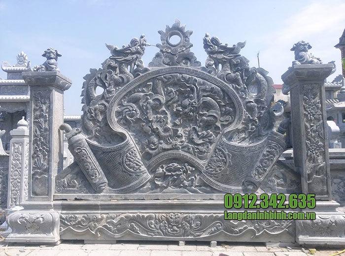 mẫu cuốn thư đá giá rẻ tại Bắc Ninh đẹp nhất