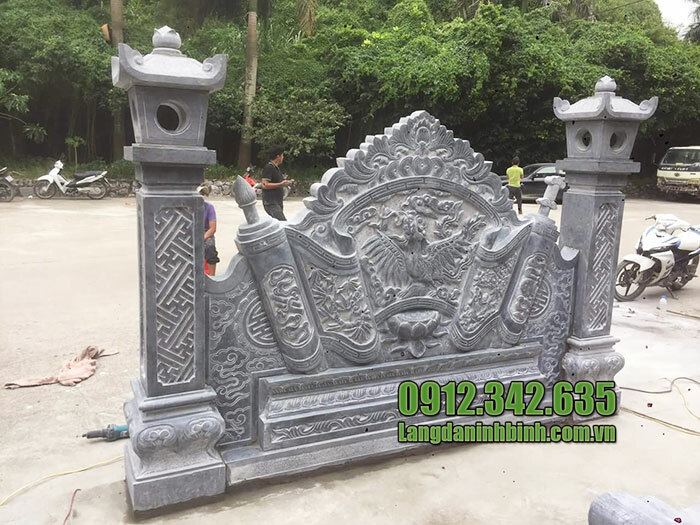 mẫu cuốn thư đá giá rẻ tại Bắc Ninh