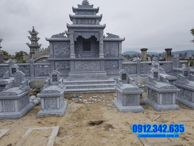 mẫu khu lăng mộ đá tại Quảng Bình đẹp