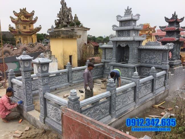 mẫu khu lăng mộ đá tại Quảng Trị đẹp nhất