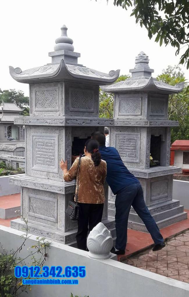 mẫu mộ tháp đá tại Đà Nẵng đẹp