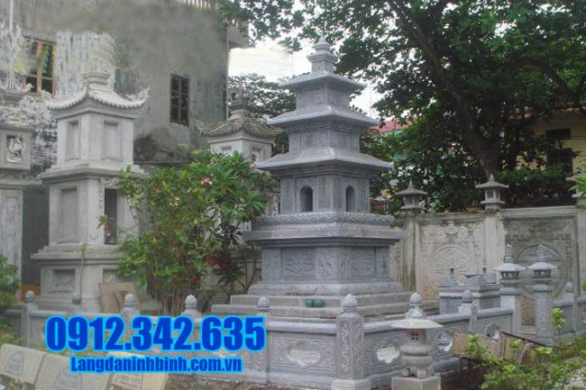mộ tháp bằng đá tại Quảng Nam đẹp