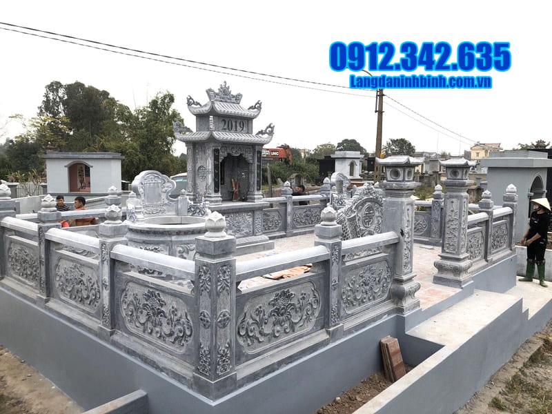 Những mẫu lăng mộ đá đẹp nhất hiện nay tại Thanh Hóa