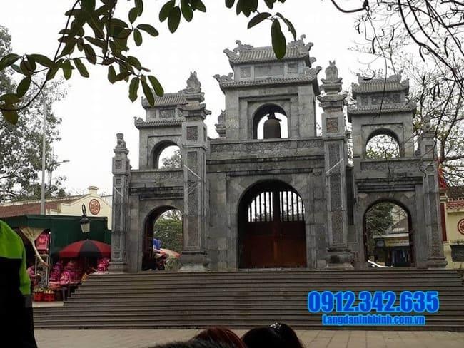 cổng chùa đá đẹp nhất