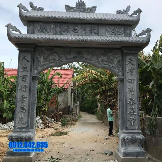 cổng nhà thờ họ đẹp