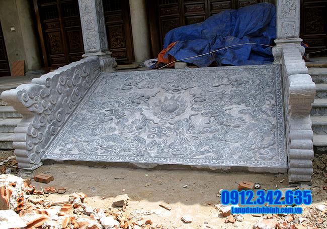 mẫu chiếu rồng bằng đá xanh đẹp