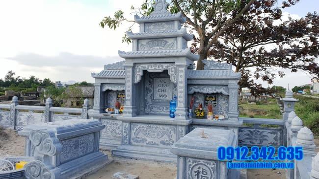 mẫu khu lăng mộ đá tại Quảng Ngãi đẹp nhất