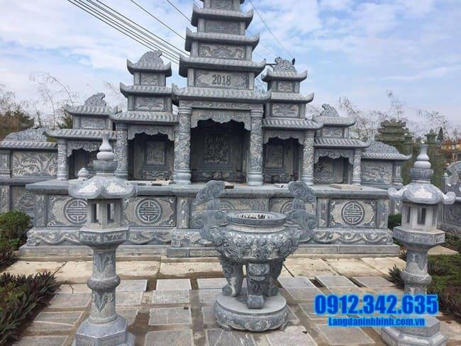 mẫu khu lăng mộ đá tại Quảng Ngãi