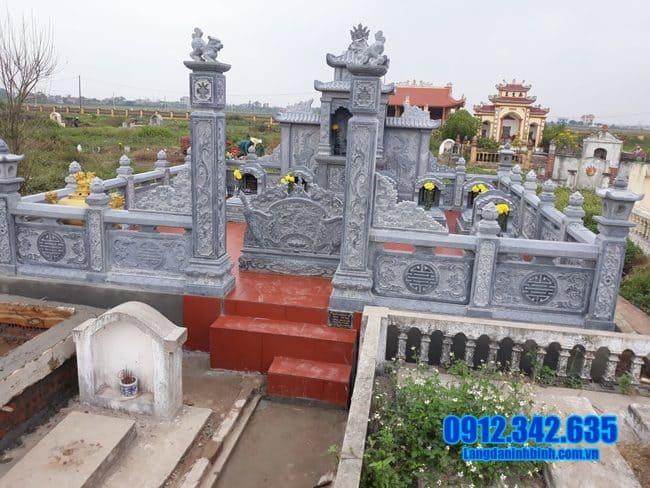 mẫu lăng mộ đá tại Quảng Ngãi