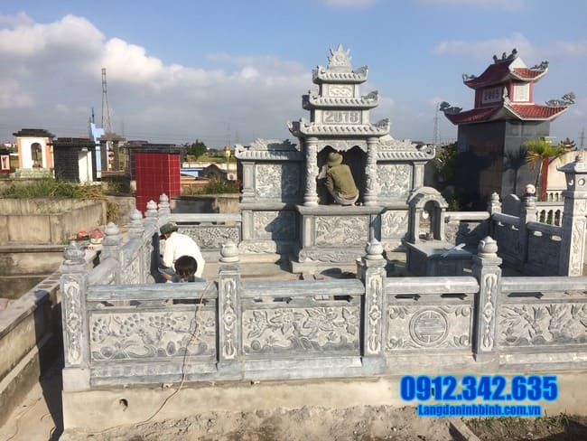 mẫu lăng mộ đẹp tại Quảng Ngãi