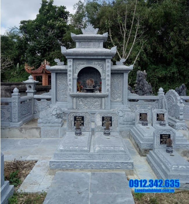 mẫu lăng mộ tại Quảng Ngãi đẹp