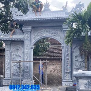 các mẫu cổng nhà thờ họ bằng đá tại Phú Thọ