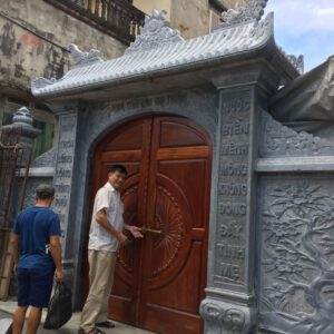 các mẫu cổng nhà thờ họ bằng đá tại Quảng Ninh