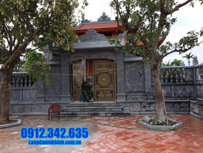 cổng nhà thờ họ đẹp tại Bắc Ninh