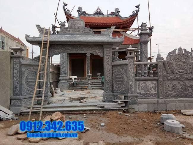 cổng nhà thờ tộc tại Bắc Ninh đẹp
