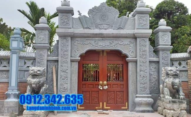 mẫu cổng nhà thờ tại Bắc Ninh